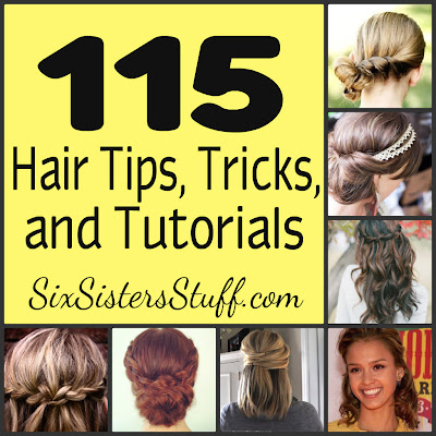 hair tips tricks tutorials